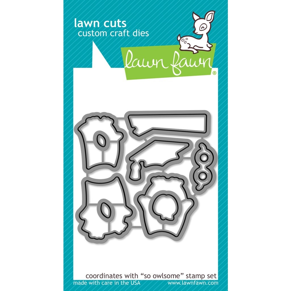 Lawn Fawn SO OWLSOME Die Cuts LF1758 zoom image