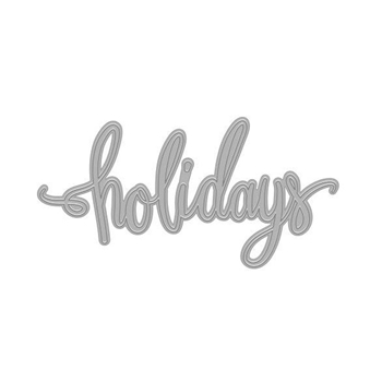 Hero Arts Fancy Die HOLIDAYS WORD DI529