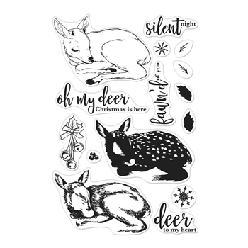 Hero Arts Color Layering Clear Stamps FAWN CM283