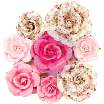 Prima Marketing OLIVIA Misty Rose Flowers 634612