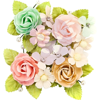 Prima Marketing PAXTON Misty Rose Flowers 634643