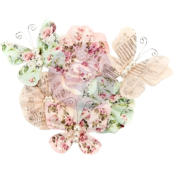 Prima Marketing MABEL Misty Rose Flowers 634650