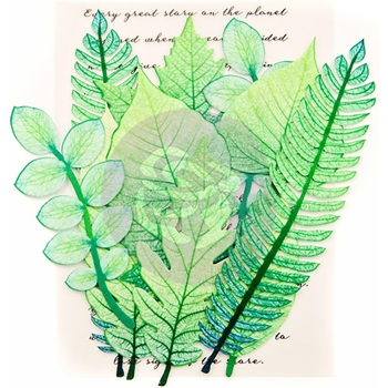 Prima Marketing MOUNTAIN PINE Leaf Embellishments 635640