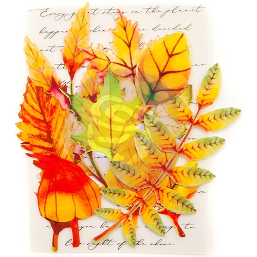 Prima Marketing AUTUMN MAPLE Leaf Embellishments 635657 Preview Image