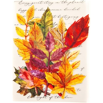 Prima Marketing FALL SOLSTICE Leaf Embellishments 635664