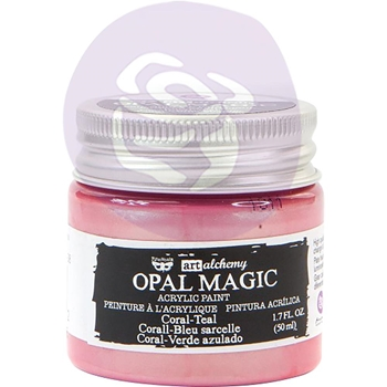 Prima Marketing OPAL MAGIC CORAL TEAL Art Alchemy Acrylic Paint 966072