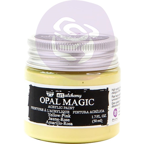Prima Marketing OPAL MAGIC YELLOW PINK Art Alchemy Acrylic Paint 966089 Preview Image
