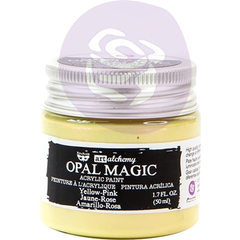 Prima Marketing OPAL MAGIC YELLOW PINK Art Alchemy Acrylic Paint 966089
