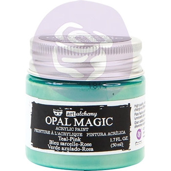 Prima Marketing OPAL MAGIC TEAL PINK Art Alchemy Acrylic Paint 966096