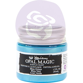 Prima Marketing OPAL MAGIC BLUE GREEN Art Alchemy Acrylic Paint 966119