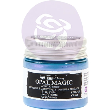 Prima Marketing OPAL MAGIC BLUE VIOLET Art Alchemy Acrylic Paint 966126