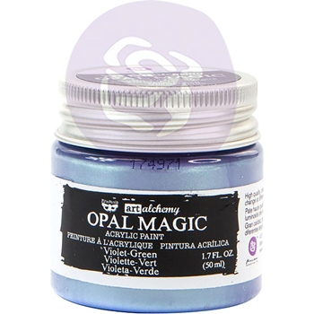 Prima Marketing OPAL MAGIC VIOLET GREEN Art Alchemy Acrylic Paint 966133