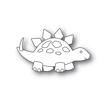 Simon Says Stamp PICTURE BOOK STEGOSAURUS Wafer Dies s601 Friendly Frolic