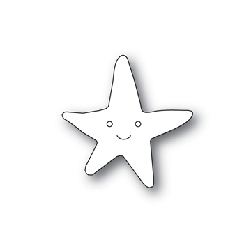 Simon Says Stamp PICTURE BOOK STARFISH Wafer Dies s591 Friendly Frolic