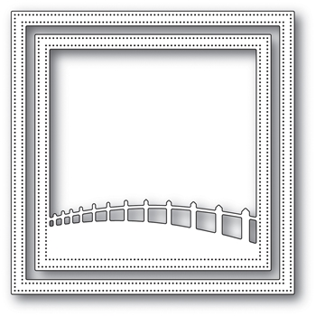 Memory Box COUNTRYSIDE FENCE FRAME Craft Die 94034