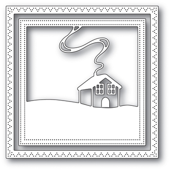 Memory Box FAMILY CABIN FRAME Craft Die 94042