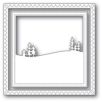 Memory Box MEADOWTREE FRAMECraft Die 94045