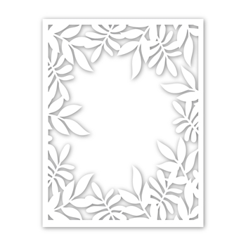 Simon Says Stamp LEAFY FRAME Wafer Dies sssd111859 Friendly Frolic