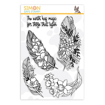 Simon Says Clear Stamps EARTH HAS MUSIC sss101910 Friendly Frolic