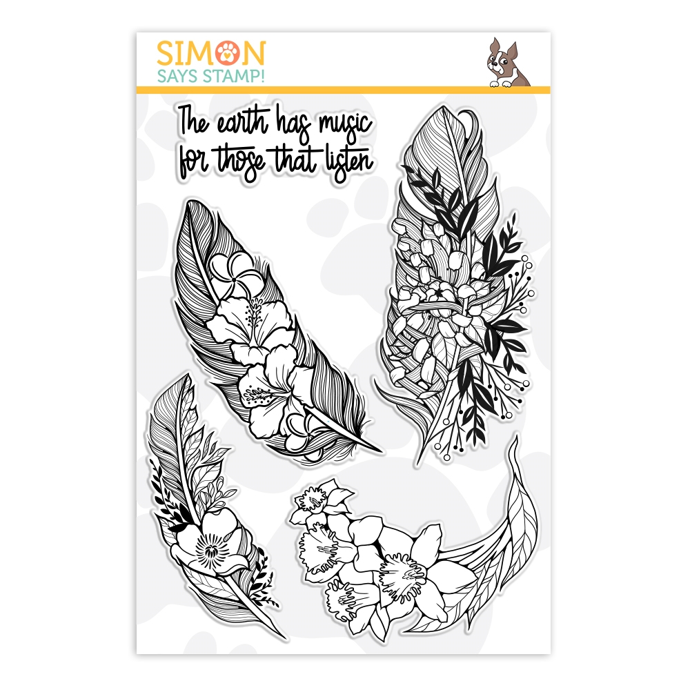 Simon Says Clear Stamps EARTH HAS MUSIC