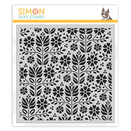 Simon Says Cling Rubber Stamp FOLK DANCE sss101871 Friendly Frolic Preview Image