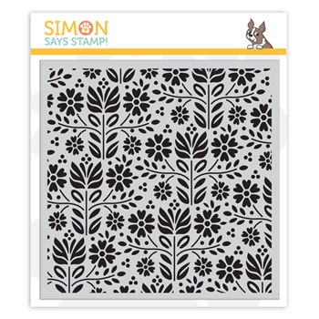 Simon Says Cling Rubber Stamp FOLK DANCE sss101871 Friendly Frolic
