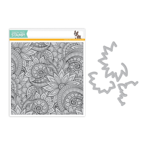 Simon Says Stamps And Dies ORNATE BACKGROUND set331ob Friendly Frolic Preview Image