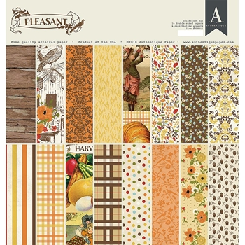 Authentique PLEASANT 12 x 12 Collection Kit ple011