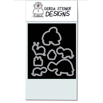 Gerda Steiner Designs TURTLEY GREAT Die Set gsd643die