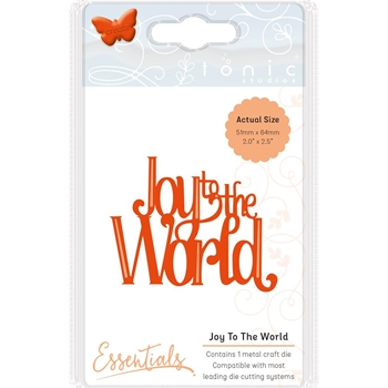 Tonic JOY TO THE WORLD Essentials Die Set 1402e