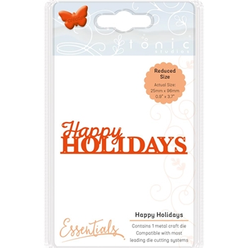 Tonic HAPPY HOLIDAYS Essentials Die Set 1401e