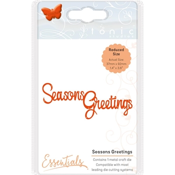 Tonic SEASONS GREETINGS Essentials Die Set 1405e