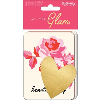 My Mind's Eye GAL MEETS GLAM Journal Cards gmg115