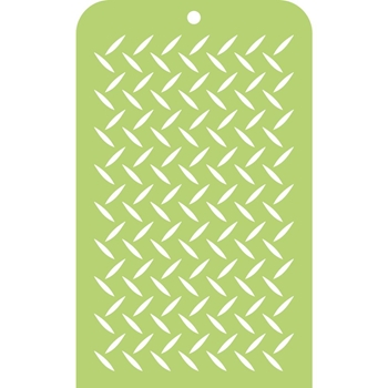 Kaisercraft CHECKER PLATE Mini Designer Template Stencil IT037