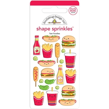 Doodlebug PERFECT COMBO Shape Sprinkles So Much Pun 6034