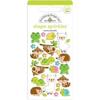 Doodlebug OTTERLY ADORABLE Shape Sprinkles So Much Pun 6037