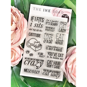 The Ink Road PURR BABIES Clear Stamp Set inkr037