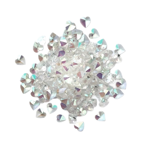 Buttons Galore and More Sparkletz CRYSTAL HEARTS Embellishments SPK115 Preview Image