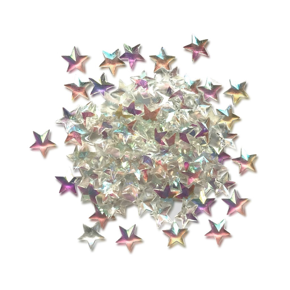 Buttons Galore and More Sparkletz CRYSTAL STARS Embellishments SPK118 zoom image