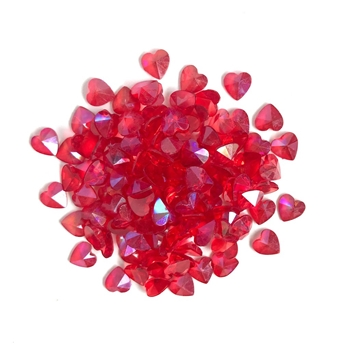 Buttons Galore and More Sparkletz RED HEARTS Embellishments SPK116