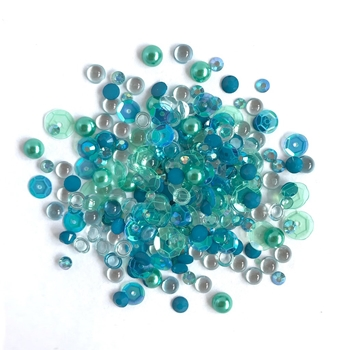 Buttons Galore and More Sparkletz SEA LEVEL Embellishments SPK110