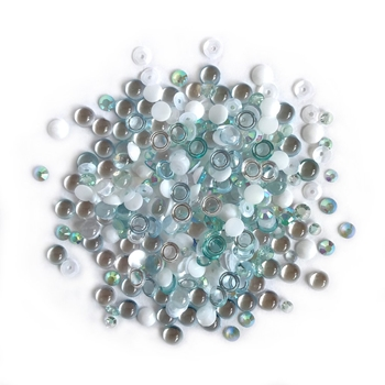 Buttons Galore and More Sparkletz ISLAND BREEZE Embellishments SPK106