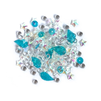 Buttons Galore and More Sparkletz SALT WATER Embellishments SPK105