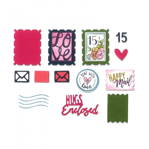Sizzix Postage Stamp and Die Set