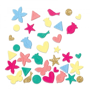 Sizzix CONFETTI Thinlits Die Set 662793