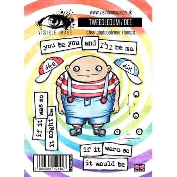 Visible Image TWEEDLEDUM / DEE Clear Stamps VIS-TWD-01