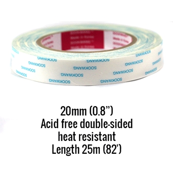 Be Creative Tape 20MM ROLL Double Sided Sookwang bc20