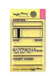 Waffle Flower SWATCH TAG Clear Stamps 271197
