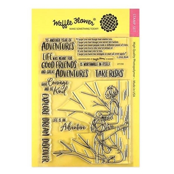 Waffle Flower ADVENTURES Clear Stamps 271192