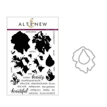 Altenew PERENNIAL BEAUTY Clear Stamp and Die Set ALT5140